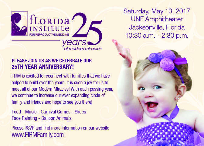 RSVP our 25th Year Anniversary @ UNF Amphitheater | Jacksonville | Florida | United States