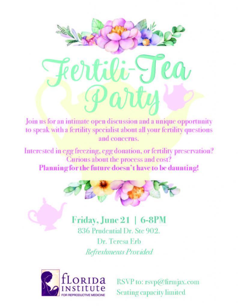 Fertili-Tea Party